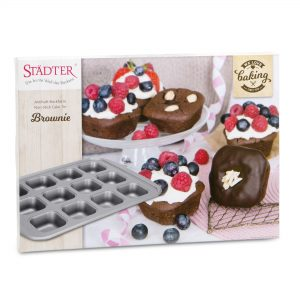 Bageform, brownie/muffins 12 stk
